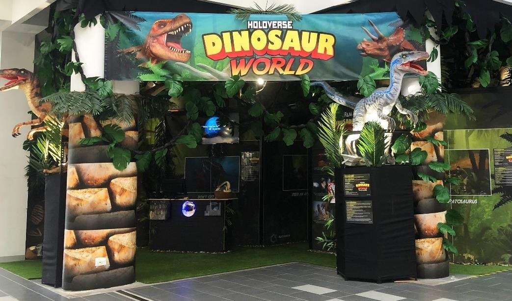 Dinosaur World Frontage