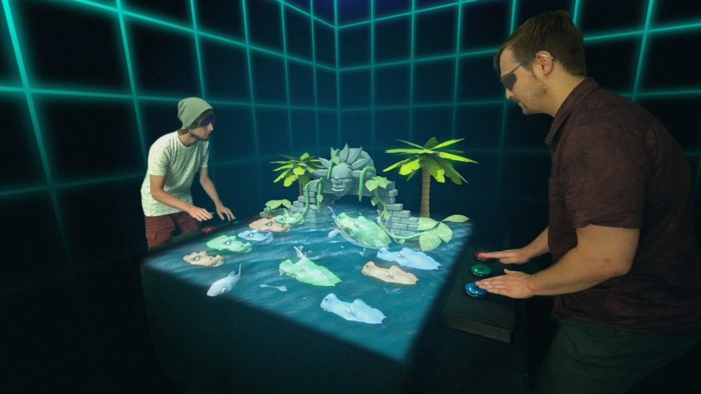 Hologram Tables used for entertainment and gaming