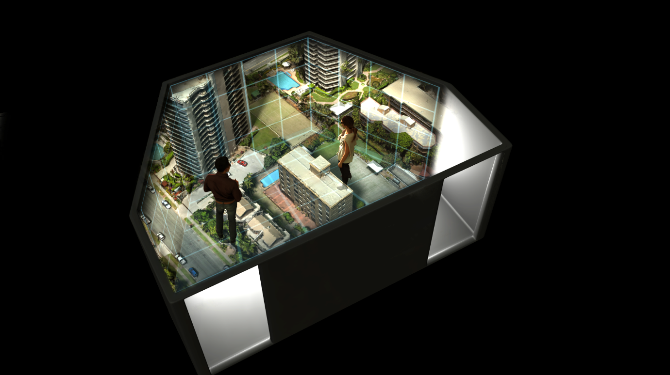 Hologram Rooms can transport you to entirely different worlds where the walls disappear